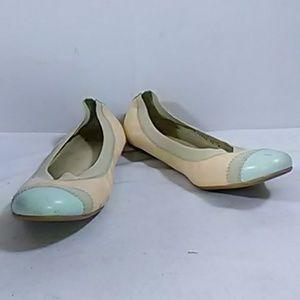 Stuart Weitzman Peach, Blue, Cream Flats Size 10
